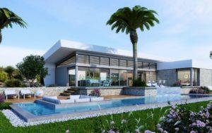 Mimosa Villa, 3 soveroms stor luksus Villa på Las COlinas Golf & Country Club
