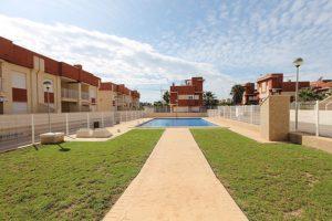 2 soveroms leilighet med takterrasse og fellesbasseng i Lomas de Cabo Roig