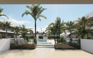 Antilia Terraces III, 2 soveroms Leiligheter i nydelige Mar de Cristal