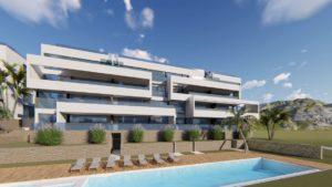 Limonero Apartments, 3 soveroms romslige luksusleiligheter med fantastisk utsikt over Las Colinas Golf