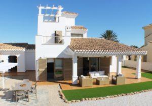 Villas La Isla - Brisa, 4 soveroms villa på stor tomt og fabelaktig beliggenhet på La Manga