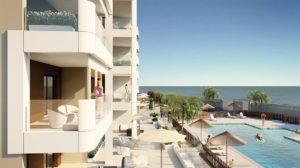 Residencial Antonio Pintor López, 3 soveroms leilighet ved stranden i Mil Palmeras