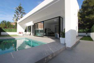 Villas Rio Verde 1, 3 soveroms moderne villa i El Pinar de Campoverde, Pilar de la Horadada, Costa Blanca Sør
