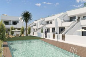 Playamar VIII, 3 soveroms leilighet/maisonette i Pilar de la Horadada, Costa Blanca Sør