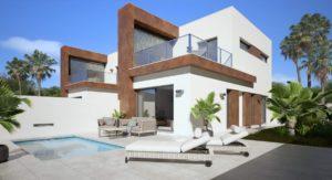 Amatista Garden, 3 soveroms Duplex-villa i rolig område i Daya Nueva, Costa Blanca Sør