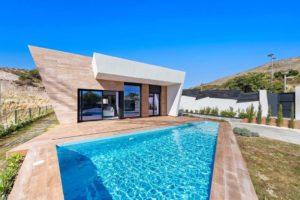 Campana Garden -Villa Blue, 3 soveroms villa i Finestrat