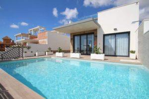 Gemma - Villas del Mar, 2 soveroms villa i Playa Honda ved La Manga