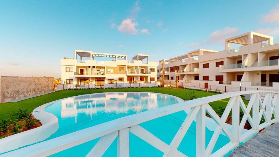 Laguna Beach Bungalos, Los Balcones, Torrevieja, Costa Blanca, Sydenleiligheter, Solimar