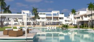 Laguna Beach Bungalows, 2 soveroms bungalower i vakre Los Balcones - Torrevieja