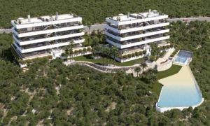 Madroño Apartment, 3 soveroms luksus Penthouse-leiligheter med hav & golf utsikt ved Las Colinas Golf