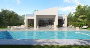 Altaona - Villa Campo, 4 soveroms luksusvillaer i golfområdet nær Murcia