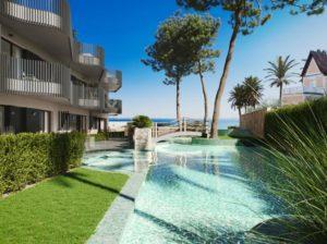 Marau Beach, 2 soveroms leilighet rett ved stranden i Mar Menor i Santiago de la Ribera, Costa Calida