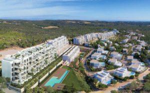 Naranjo Community, 3 soveroms penthouse leilighet med fantastisk utsikt ved Las Colinas Golf and Country Club