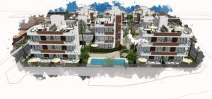 Residencial Barnuevo, 2 soveroms leiligheter rett ved Santiago de la Ribera-stranden