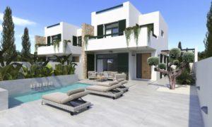 Olive Collection, 3 soveroms villa med eget svømmebasseng i landlige Daya Nueva