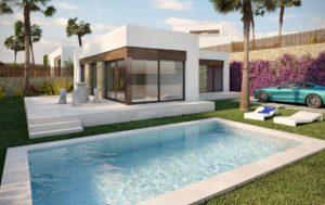 Villa Cambra, 3 soveroms eksklusive villaer med fantastisk utsikt i Balcon de Finestrat