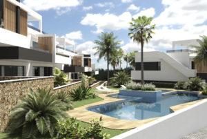 Amanecer VII, 2 soveroms bungalower nær Villamartin