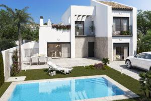 Villa Palma, 3+ soveroms villa i Ciudad Quesada