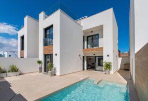 Benimar Golf, 3 soveroms stor og godt utstyrt villa i Rojales