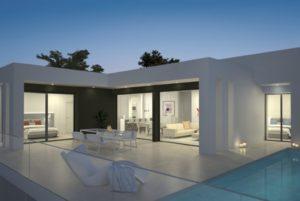 Magnolias Sunset, 3+ soveroms stor villa med havsutsikt i Cumbre del sol