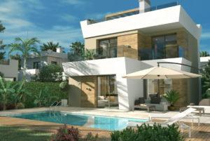 Villa Salvador, 3 soveroms stor villa i Ciudad Quesada med eget basseng